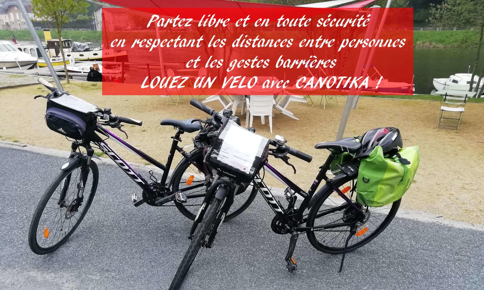 Lovation de vélos randonnée et balade